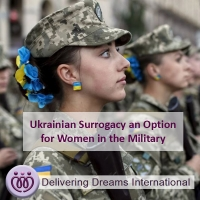 Ukrainian Surrogacy an Option for Women in the Military