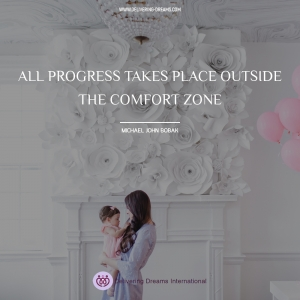 All progress takes place