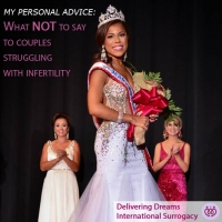 Mrs North Carolina educates the general public on what not to say to couples struggling with infertility