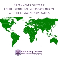 Green Zone Countries: Enter Ukraine for Surrogacy and IVF as if there was no Conravirus