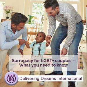 Here's everything LGBT+ couples who are considering surrogacy need to know