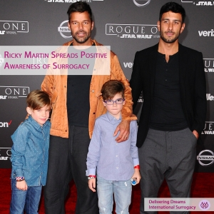 Through Surrogacy Ricky Martin welcomes 'beautiful' baby girl Lucia with husband Jwan Yosef