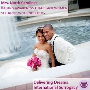 Mrs. North Carolina: Raising awareness that black women struggle with infertility