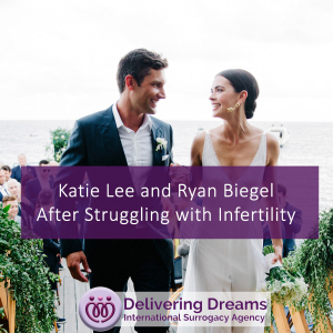 Katie Lee and Ryan Biegel After Struggling with Infertility