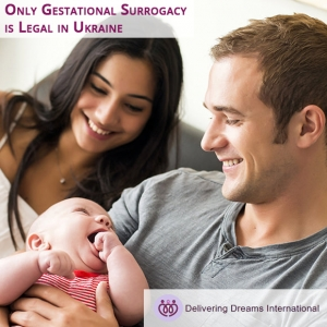 Only Gestational Surrogacy is Legal in Ukraine