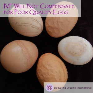 Things your Doctors May NOT Tell You? 2 Vitro Fertilization (IVF) Can't Compensate for Poor Quality Eggs