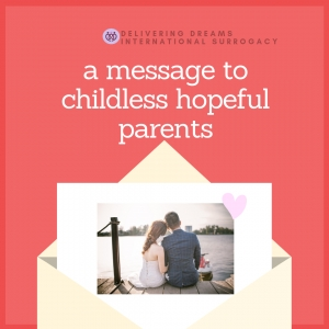 A message to childless hopeful parents