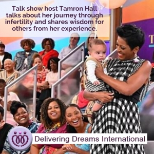 Tamron Hall Shares This Advice for Women Going Through IVF