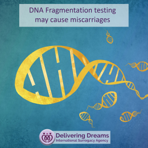 DNA Fragmentation testing may cause miscarriages