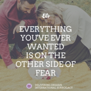 Everything you`ve ever wanted is on the other side of fear