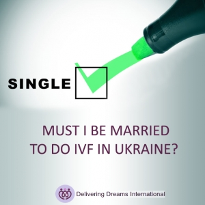 If you're single, can you do IVF in Ukraine?
