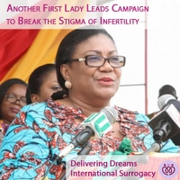 Another First Lady Leads Campaign To Break Stigma Of Infertility